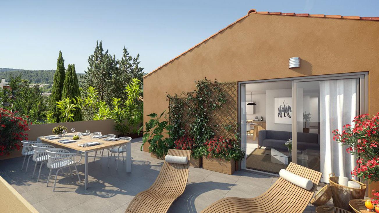 Programme immobilier neuf Aix-en-Provence (13080) - BOREAL